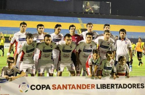 Nacional in their 2012 campaign Photo: clubnacional.com.py