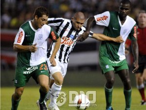 The last Peruvian side to visit Libertad was Alianza Lima, they lost heavily - Photo: D10.com.py