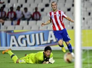 Rodrigo Alborno's goal at the tournament - Photo: ABC