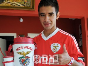 The Benfica striker was excellent  - Photo: D10.com.py