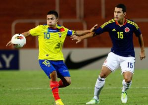 Uchuari (left) has starred for Ecuador - Photo: Vavel.com