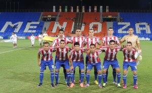 Paraguay starting XI - Photo: Prensa Selección Paraguaya de Fútbol