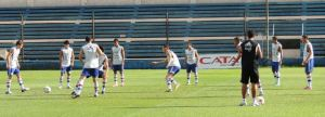 Training on the eve of the Ecuador game - Photo: Prensa Selección de Fútbol Paraguaya