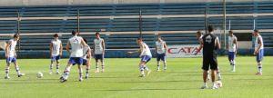 Training on the eve of the Ecuador game - Photo: Prensa Selección de Fútbol Paraguaya