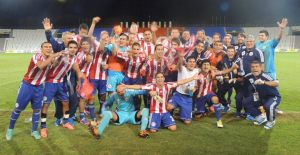 Paraguay celebrate their qualification to the World Cup in Turkey - Photo: Prensa Selección Paraguaya de Fútbol