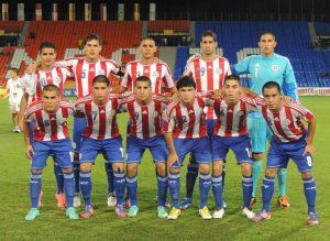Starting XI vs Ecuador - Photo: Prensa Selección Paraguaya de Fútbol