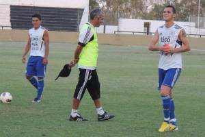 Rojas and Alborno (L-R) will be the creative forces in midfield - Photo: Prensa Selección Paraguaya de Fútbol