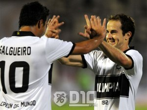 Salgueiro (L) and Castorino (R) will be important for the Olimpia frontline - Photo: D10.com.py