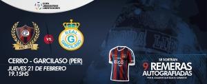 Cerro Porteño vs Real Garcilaso - Photo: Cerro.com.py