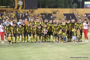 Guaraní squad for this year - Photo: ClubGuarani.com
