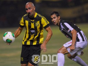 Orteman was unable to be the match winner for Guarani - Photo: D10.com.py
