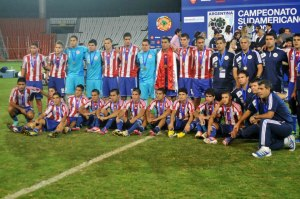 Sad faces despite qualification! - Photo: Prensa Seleccion Paraguaya de Futbol
