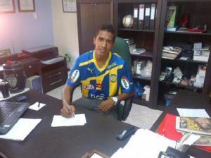 Reinaldo Ocampo has signed for Luque - Photo: LaNacion.com.py
