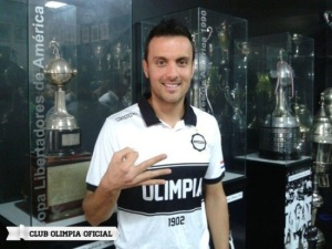 Tomas Guzman is one of Olimpia's biggest signing s - Photo: Olimpia.com.py