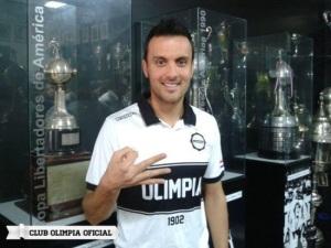 Tomas Guzman is one of Olimpia's biggest signing s - Photo: Olimpia.com.py