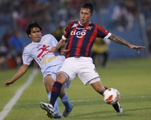 Fabbro and Cerro were outdone by Garcilaso previously - Photo: Jorge Saenz/AP