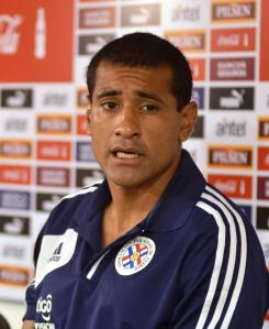 Da Silva will win a record 111th cap tonight - Photo: Prensa Selección Paraguaya de Fútbol