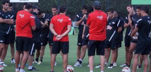 Libertad prepare for the game - Photo: Club Libertad prensa