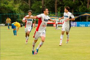 Melgarejo has got the winner in the past two games for Nacional - Photo: Prensa Club Nacional