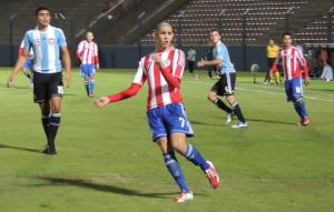 Sanabria is on the books of Barcelona - Photo: Prensa Selección Paraguaya de Fútbol