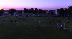 Libertad preparing for today's game - Photo: Prensa Club libertad