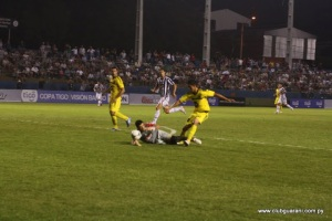 Guarani scored early last time but couldn't hold on for win - Photo: Prensa Club Guaraní