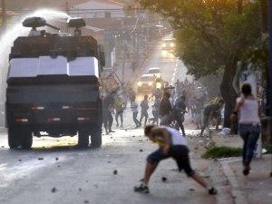 Terrible scenes in Luque on Wednesday - Photo: D10.com.py