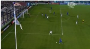 Should Olimpia have conceded from this position?