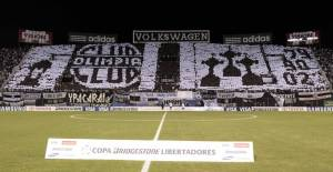 The second mosaic, this time against Fluminense - Photo: Taringa.com.py
