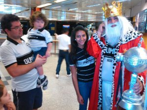 "Olimpia hope to keep up their claim as the ""Rey de Copas"" - Photo: D10.com.py"