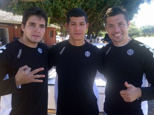 Huth, Centurion and Dante Lopez join El Decano - Photo: D10.com.py