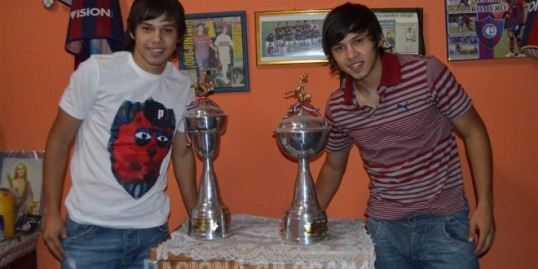 The Romero twins - Photo: Pasionazulgrana.com