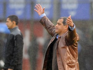 Chiqui Arce celebrates his first clásico win as coach - Photo: D10.com.py