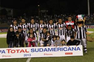 Libertad team that faced Wanderers - Photo: Club Libertad