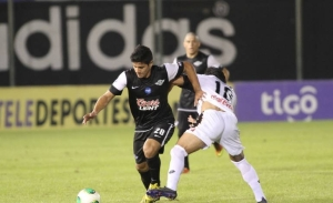 Jorge Recalde scored in the league game last weekend - Photo via Hoy.com.py