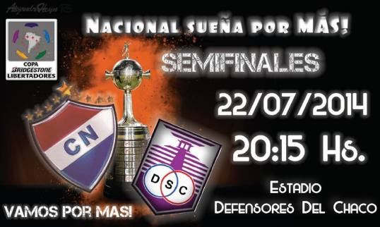 Photo: Club Nacional Facebook