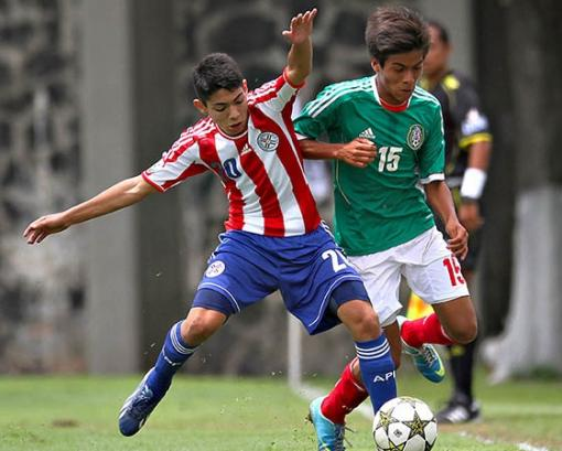 Paraguay participated last year with an U15s side
