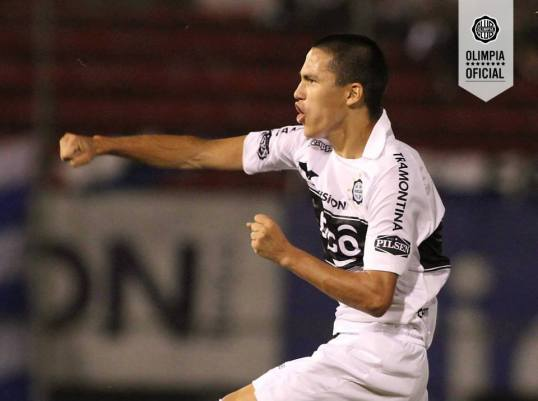 Guerreño is one of the rising stars at Olimpia - Photo: Club Olimpia Oficial