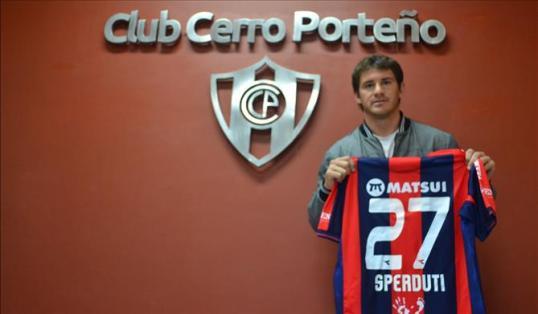 Spertudti arrives with big expectations of him - Photo: cerro.com.py